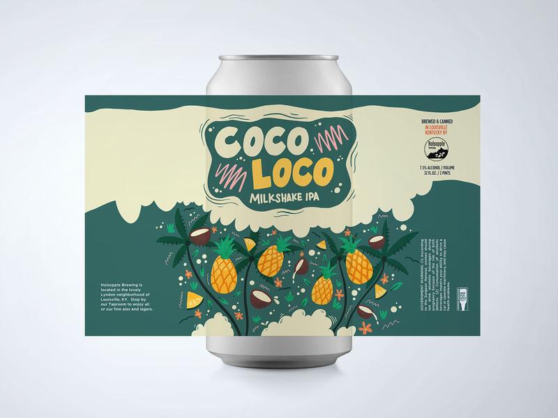 Coco Loco Milkshake Beer Can