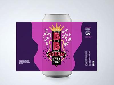 BB Cream Beer Can bb king beer art beer can beer label beer