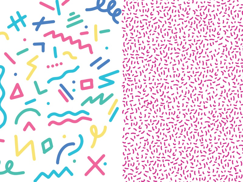 90s Patterns by Chris Diggs on Dribbble