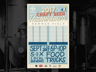 Craft Beer Throwdown Poster