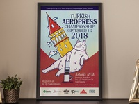 Turkey Aeropress Competition Poster