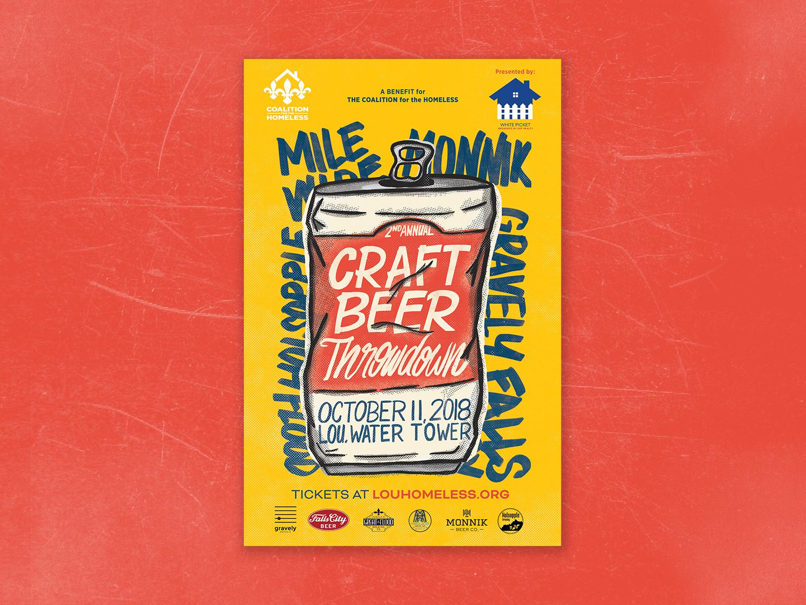 Craft Beer Poster beer procreate handdrawn ipad
