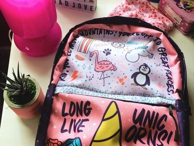 Custom Backpack Design