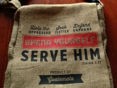 Adoption Bag Printed