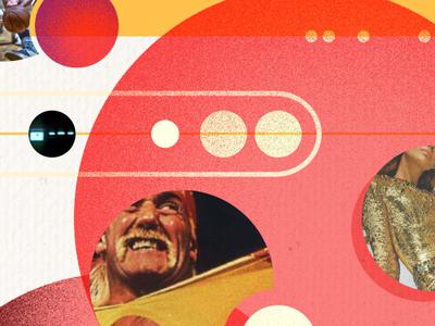 Plop hulk hogan collage design
