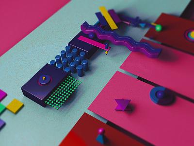 Typo - F alphabet cgi typography graphic design minimalism inspiration artist illustration c4d digital creative 3d