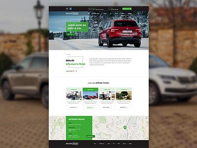 Autoshop Paulus - web design photoshop adobe design minimalism inspiration digital creative art