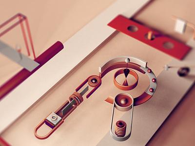 Typo - R typography cgi design artist minimalism illustration inspiration c4d graphic digital creative 3d art
