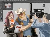 Reportera concept