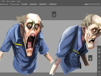 Character zombie