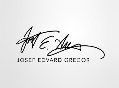 LOGO JOSEF EDVARD GREGOR