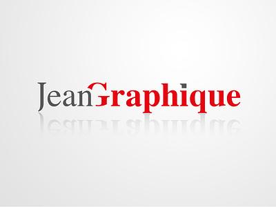Logo Jean Graphique brand design logodesign logo