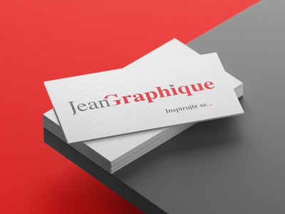 Business card Jean Graphique