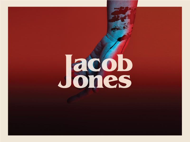 Jacob Jones Logo vintage scary retro music logo identity icon horror creepy branding band