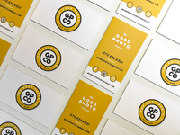 Good Photo Co. Business Cards