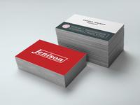 Jenison Business Cards