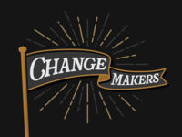 Change Makers Logo Concept