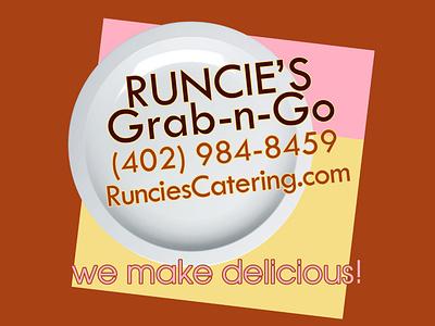 Runcie's Grab-n-Go web design social media google steve mckinnis photoshop logo photography branding graphic design stevemckinnis.com new site