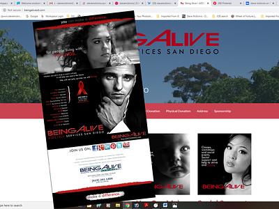 Being Alive San Diego branding graphics blogger stevemckinnis.com photography social media photoshop web design photographer steve mckinnis