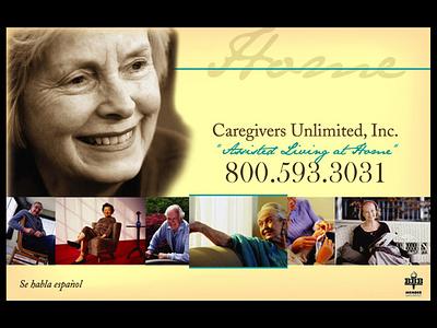 Caregivers Unlimited, Inc. graphics branding graphic design web design photoshop steve mckinnis