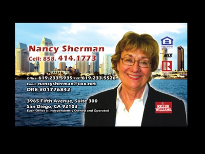 Nancy Sherman Keller Williams graphics graphic design branding photography photoshop stevemckinnis.com photographer steve mckinnis