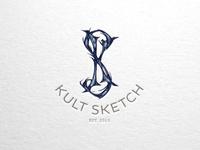Kult Sketch Monogram Logo
