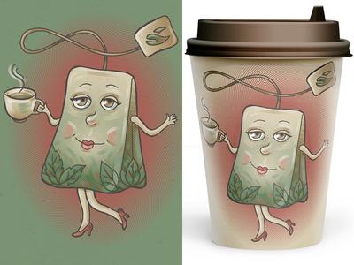 Tea tea coffee cup