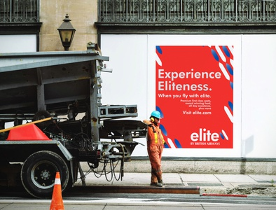 Elite - Branding and Adverts