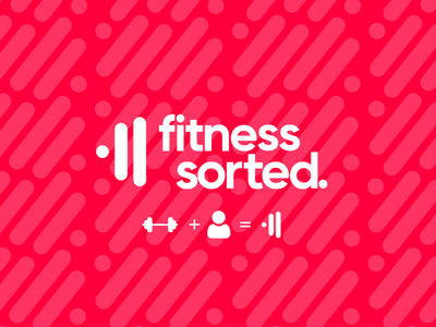 Fitness logo- Icon design