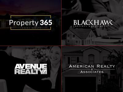 Real Estate Logos logo icon branding realestate design