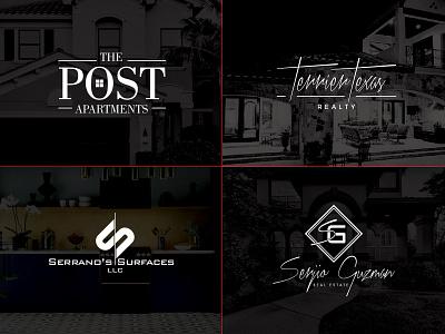 Real Estate Logos logo icon realestate design