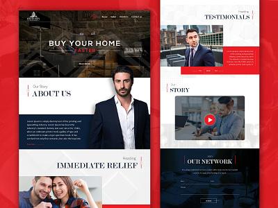 David Buy Houses Miami web design minimal branding ui web development realestate website design ui  ux design