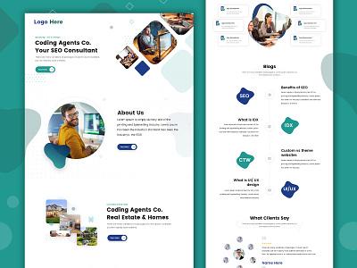 SEO Consulting mobile app web development ui website design ui  ux design