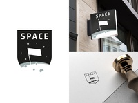 Thirty Logos #1 - Space (Concept 1)