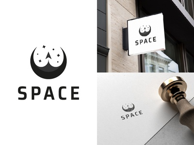 Thirty Logos #1 - Space (Concept 2)