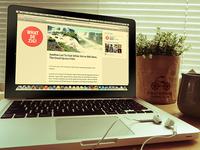 Mock up – Mac Book Pro Vintage
