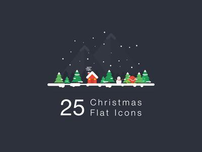 Christmas Flat Icon