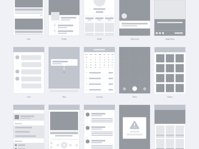 free - Wireframe for apps