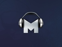 M is for... not flat? Mideast Tunes App Icon (Android)