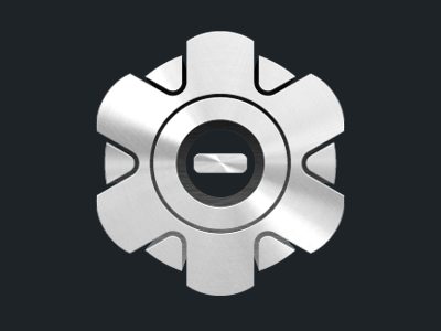 SimpleSafe simplesafe metal logo