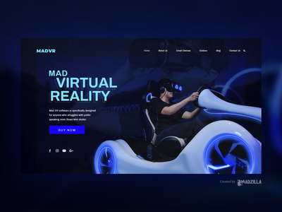 Virtual Reality Design Inspiration website designer website design website concept website ui illustration design branding