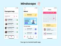 Mindscape | Mental Health application adobexd mental health app mental health mindscape ui design ui ux