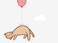 Floating Cat.