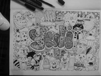 "Doodle name ""Yuli"""