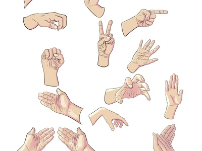 Hands hands illustraion