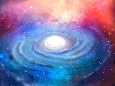 Galaxy colorful art galaxy background art illustration