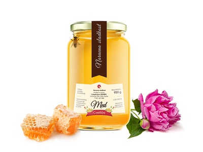 Honey labels product line graphic design packaging labels