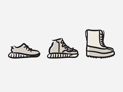 YEEZY SEASON 1 sneakers footwear sketch illustration fashion yzy yeezy boost originals adidas kanye west season 1 yeezy