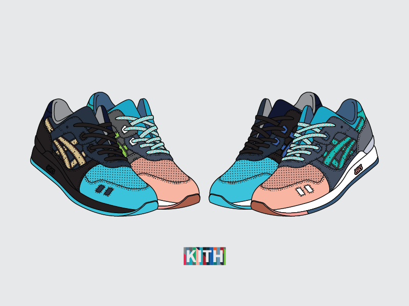 brand new 034a4 34c6f Ronnie Fieg x ASICS Gel Lyte III 'Homage' by Quin on Dribbble