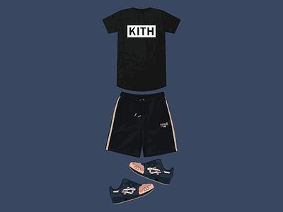 Sneaker Con Fit london outfit gel lyte iii asics bergdorf goodman kith footwear sneakers sneaker con